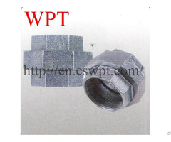 Malleable Iron Threaded Union En10242 For Pipe Fittings