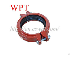 Wpt Flexbile Coupling Ductile Iron Grooved Couplings And Fittings For Sprinkler Fire Fighting System