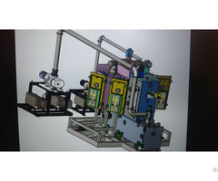 Smart Sputtering Optical Coater Of Auto Loading And Unloading System