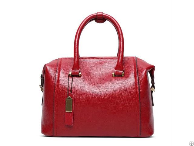 Oem Handbag Manufacturer Vintage Tote Shoulder Bag Fashion Style Pu Leather Handbags