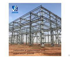 Light Weight Prefabricated Steel Structure