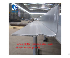 Cold Bent Hot Dipped Galvanized Ribbed L Angle Lintel