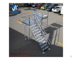 Prefabricated Steel Staircase Working Platform