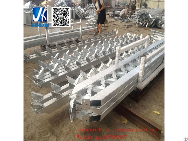 Hot Dipped Galvanized Steel Stringer For Staircase