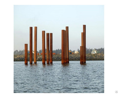 Structural Piling Steel Pile Pipe Construction Building Trasffering Oilfiled