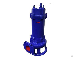 Xwq Submersible Sewage Pump With Spiral Shape Cutting Type Impeller