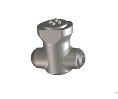Forged Steel Swing Check Valve Pressure Seal Bonnet