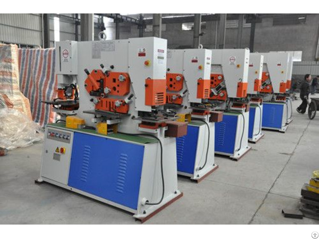New Style Hydraulic Ironworker Manufacturer