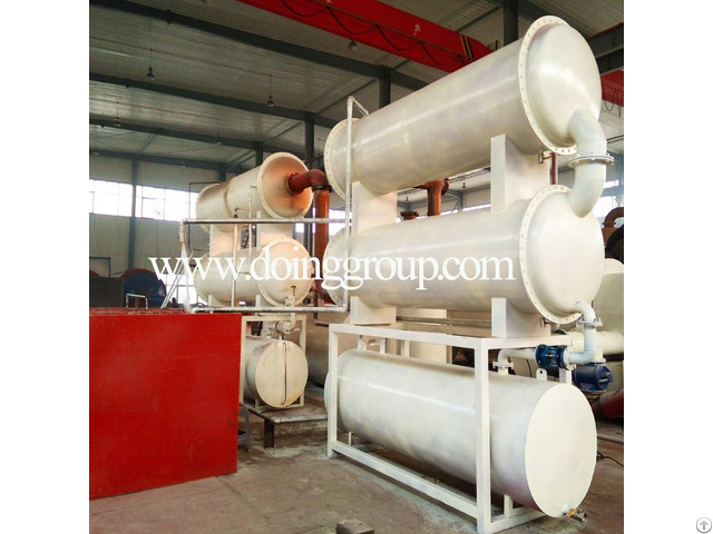 Fully Automatic Continuos Waste Plastic Tyre Rubber Into Fuel Oil Pyrolysis Plant