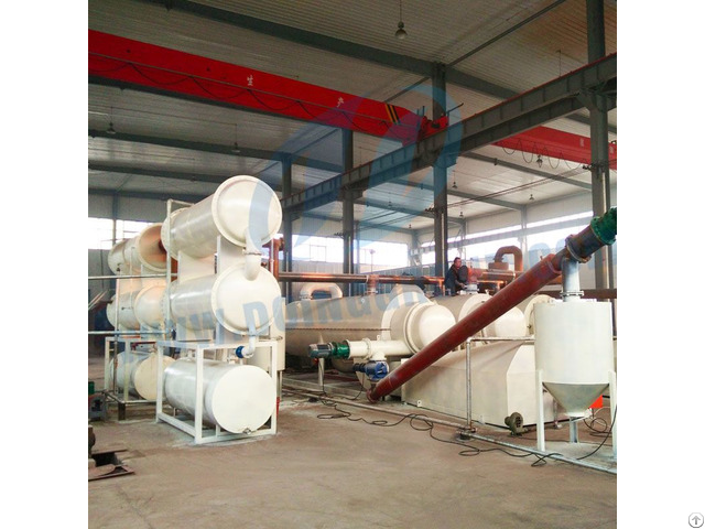 Pyrolysis Oil To Diesel Fuel Distillation Plant