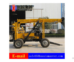 Xyx 3 Wheeled Hydraulic Core Drilling Rig