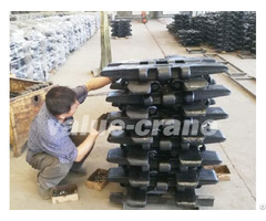 Sany Scc500d Track Shoe Crawler Crane Parts Heat Treated