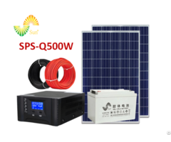 Solar System For Home Sps Q500w Off Grid