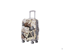 Fashion Customized Bus Design Abs Pc Trolley Hard Shell Case Travel Bag And Luggage