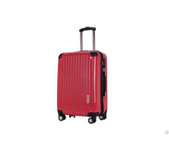 Factory Outlet High Quality Abs Pc Mirror Airport Travel Zipper Trolley Luggage Bags