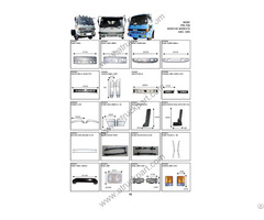 Isuzu Rocky 195 175 Truck Spare Parts
