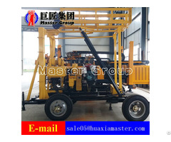 Xyx 200 Wheeled Hydraulic Rotary Drilling Rig Manufacture