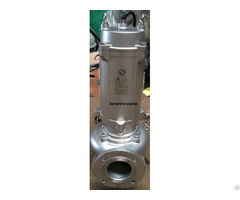 Stainless Steel 316 Submersible Sewage Pump