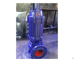 Wqb Series Explosion Proof Submersible Sewage Pump