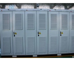 Strengthen Transmission High Voltage And Dynamic Cubicle Type Svg