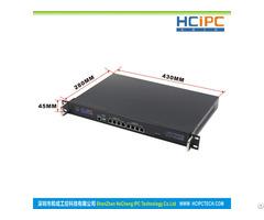 Hcipc B204 1 Hcl Sc1037 8lb2 Intel C1037 Cpu 6pcs 82574l Lan 1u Router Firewall System