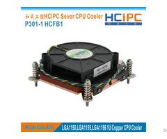 Hcipc P301 1 Hcfb1 Socket Lga115x Lga2011 Lga1366 Cpu Cooler Cooling Fan