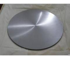 Niobiuim Sputtering Target Disc Round