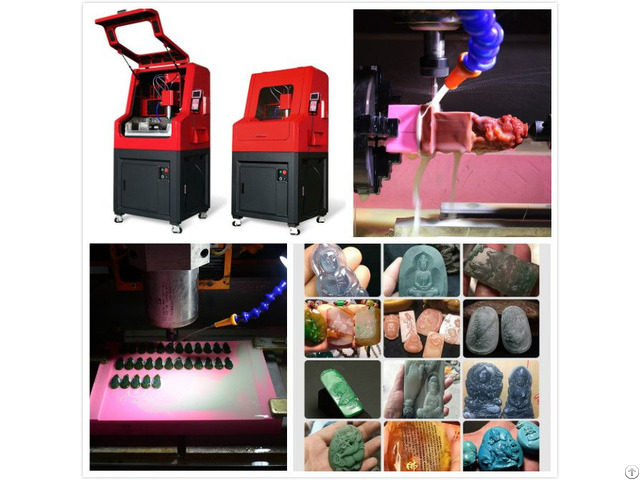 Best Selling China Cnc Engraving Machine For Jade Stone Glass Crystal