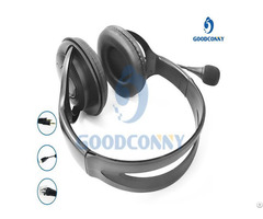 Call Center Software Office Phone Headset