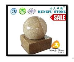 Yellow Stone Granite Fountain