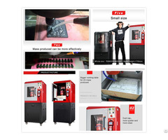 2d Cnc Control Long Service Life Glass Engraving Machine Silver Jewelry Milling Graver