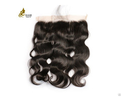 Free Part Brazilian Body Wave Lace Frontal Closure With Baby Hair