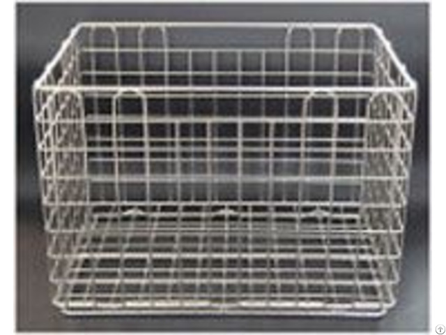 Low Carbon Steel Disinfect Basket