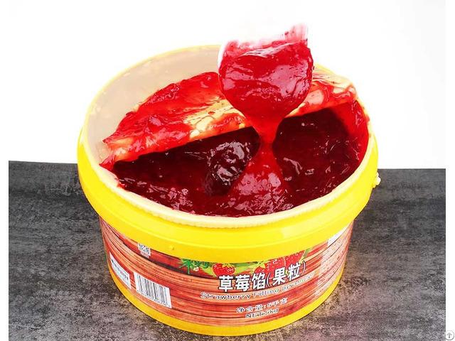 Strawberry Filling Jam Granule 5kg