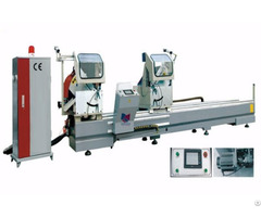 Cnc Double Mitre Saw For Aluminum Profile
