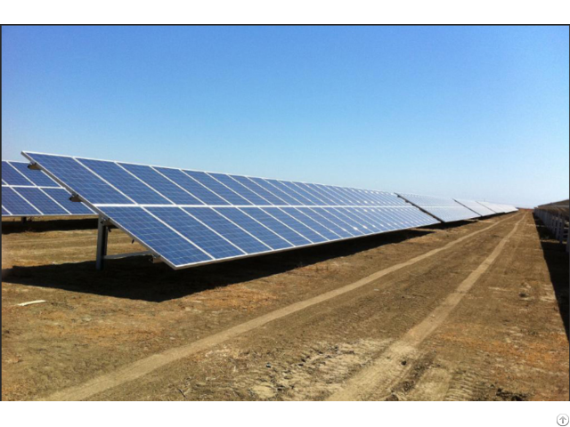 Portable Ground Mounted Solar Power System In China