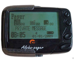 Alpha Pager Pocsag Text Message Receiver