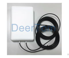 Dual Polarization Mimo 4g Lte Panel Antenna 9dbi High Gain Indoor Outdoor External