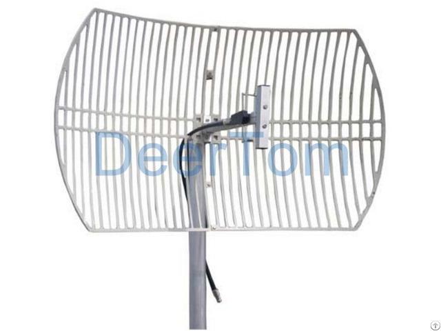 800mhz Cdma Grid Parabolic Antenna 15dbi Outdoor Directional Point High Gain Base Station