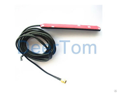 Gsm Adhesive Patch Antenna 3dbi Window Sma Connecctor Car Modem Router
