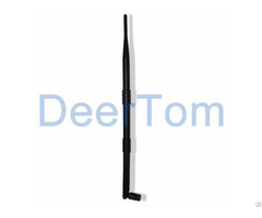 2400mhz 2 4ghz Wifi Wlan Rubber Duck Antenna 9dbi Sma Foldable Connector Router Modem