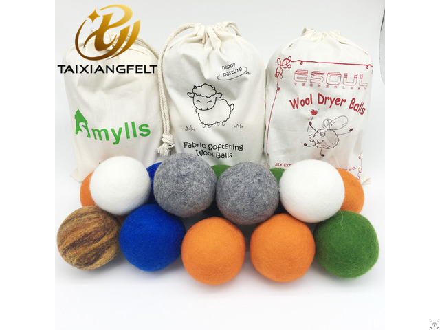 Organic Wool Dryer Ball Perfectly Sized For Your Laundry Natural Wooldryer Balls Faster Dry