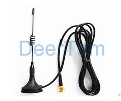 Terminal 433mhz Magnetic Base Antenna 3dbi Sma Connector Indoor Omni Directional Internal External