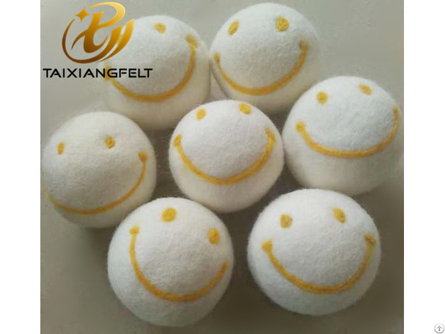 Six Pack Xl Premium Wool Dryer Balls Handmade Laundry Ball
