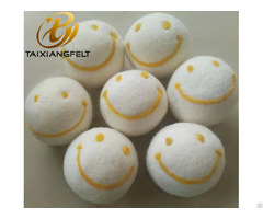 Six Pack Xl Premium Wool Dryer Balls Handmade Laundry Ball