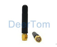 Terminal 433mhz Rubber Duck Antenna 2dbi Sma Male Straight Connector
