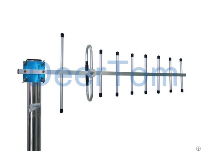 Outdoor Digital Tv Yagi Antenna Dvb T2 580 690mhz 12dbi 7 9 Elements F