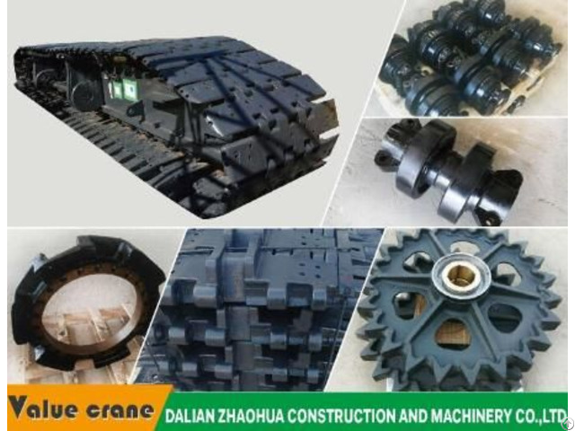 Hot Sale Fuwa Quy50a Track Roller Crane Parts