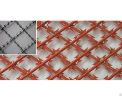 Welded Razor Wire Mesh Security Fence Grids