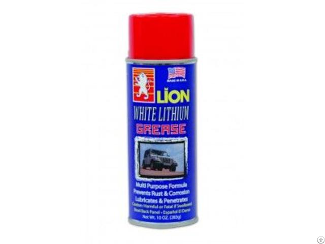 Lion White Lithium Grease Spray